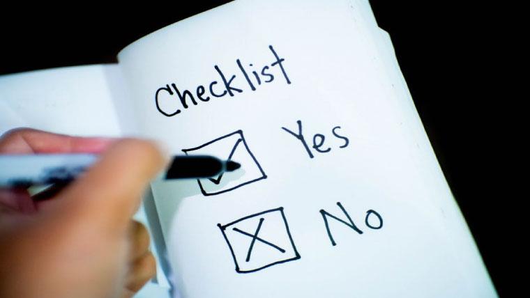 英語学校選_checklist